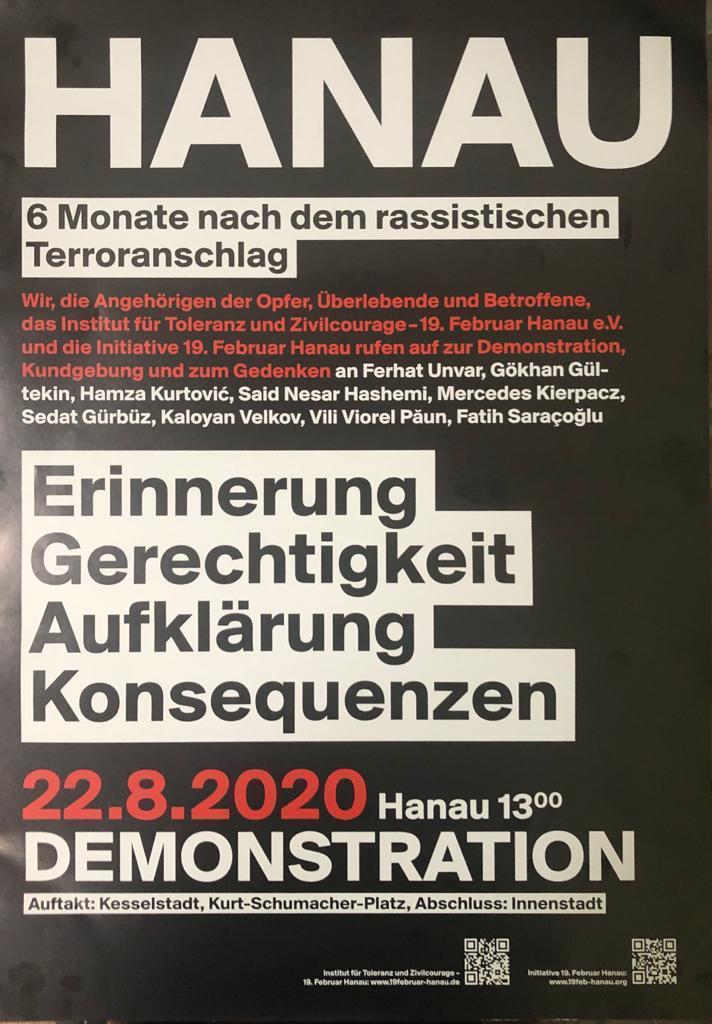 Almanya Hanau'daki faşist terör saldırısını nefretle kınıyoruz.