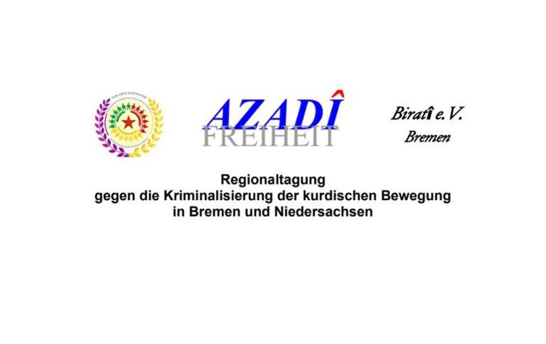 Regionaltagung gegen die Kriminalisierung der kurdischen Bewegung